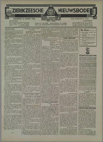 Zierikzeesche Nieuwsbode 1936-03-16