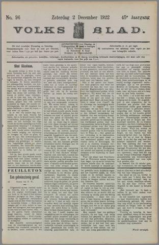Volksblad 1922-12-02