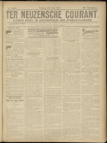 Ter Neuzensche Courant. Algemeen Nieuws- en Advertentieblad voor Zeeuwsch-Vlaanderen / Neuzensche Courant ... (idem) / (Algemeen) nieuws en advertentieblad voor Zeeuwsch-Vlaanderen 1928-06-22