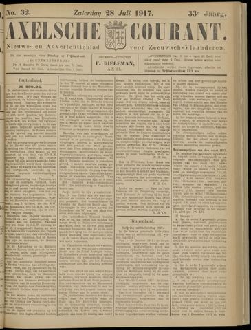 Axelsche Courant 1917-07-28