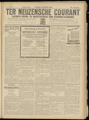 Ter Neuzensche Courant. Algemeen Nieuws- en Advertentieblad voor Zeeuwsch-Vlaanderen / Neuzensche Courant ... (idem) / (Algemeen) nieuws en advertentieblad voor Zeeuwsch-Vlaanderen 1934-03-30