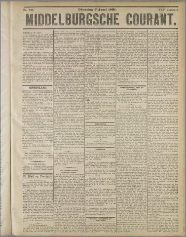 Middelburgsche Courant 1921-06-07