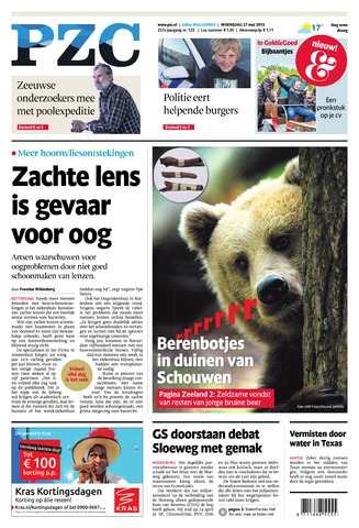 Provinciale Zeeuwse Courant 2015-05-27