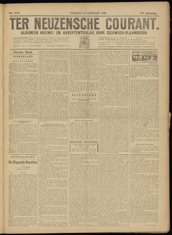 Ter Neuzensche Courant. Algemeen Nieuws- en Advertentieblad voor Zeeuwsch-Vlaanderen / Neuzensche Courant ... (idem) / (Algemeen) nieuws en advertentieblad voor Zeeuwsch-Vlaanderen 1933-01-20
