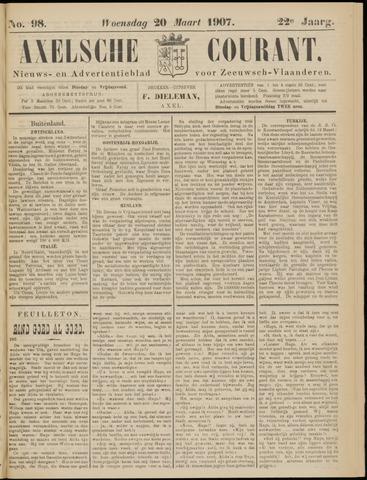 Axelsche Courant 1907-03-20