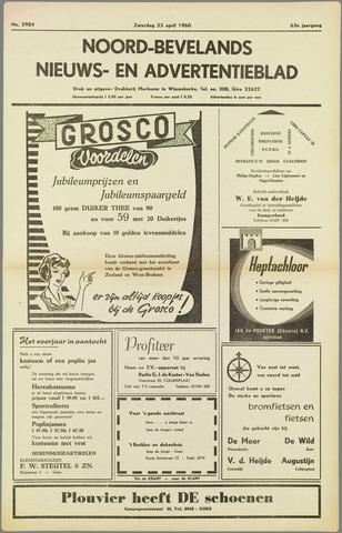 Noord-Bevelands Nieuws- en advertentieblad 1960-04-23