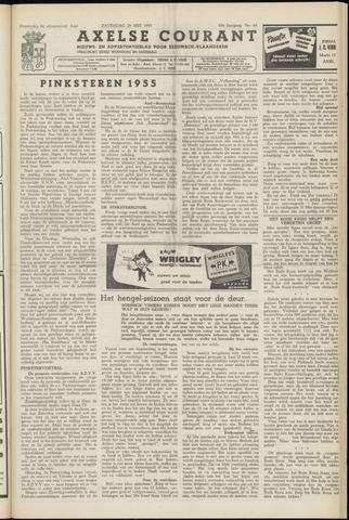 Axelsche Courant 1955-05-28