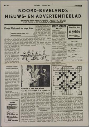 Noord-Bevelands Nieuws- en advertentieblad 1984-11-01