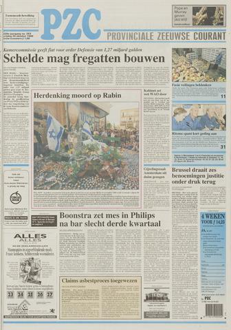 Provinciale Zeeuwse Courant 1996-10-25