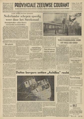 Provinciale Zeeuwse Courant 1957-05-10