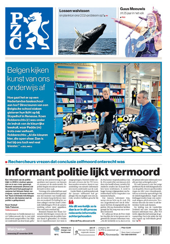 Provinciale Zeeuwse Courant 2019-11-27