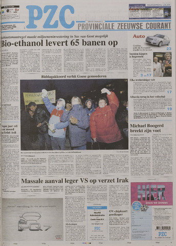 Provinciale Zeeuwse Courant 2006-03-17