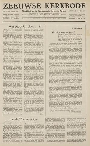 Zeeuwsche kerkbode, weekblad gewijd aan de belangen der gereformeerde kerken/ Zeeuwsch kerkblad 1959-07-10