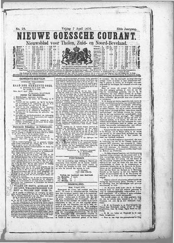 Nieuwe Goessche Courant 1876-04-07