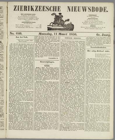 Zierikzeesche Nieuwsbode 1850-03-11