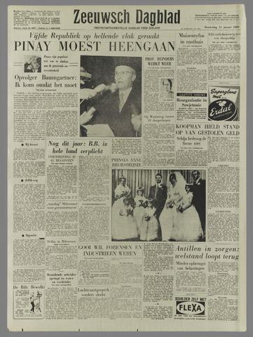 Zeeuwsch Dagblad 1960-01-14