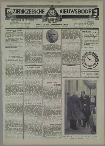 Zierikzeesche Nieuwsbode 1936-11-12