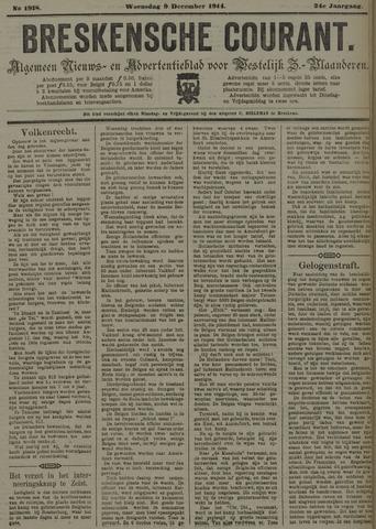Breskensche Courant 1914-12-09