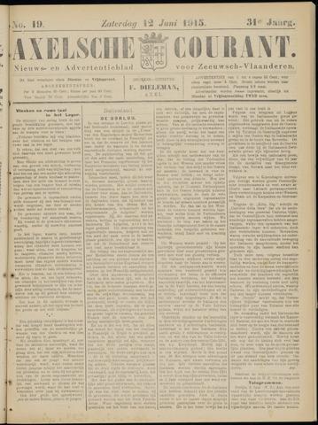 Axelsche Courant 1915-06-12