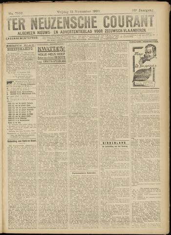 Ter Neuzensche Courant. Algemeen Nieuws- en Advertentieblad voor Zeeuwsch-Vlaanderen / Neuzensche Courant ... (idem) / (Algemeen) nieuws en advertentieblad voor Zeeuwsch-Vlaanderen 1926-11-12
