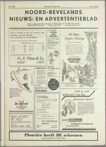Noord-Bevelands Nieuws- en advertentieblad 1964-04-11