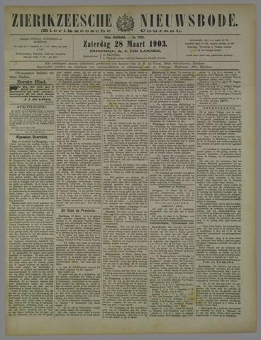 Zierikzeesche Nieuwsbode 1903-03-28