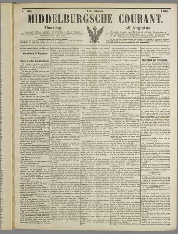 Middelburgsche Courant 1905-08-21