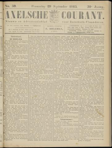 Axelsche Courant 1915-09-29