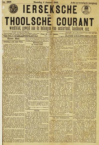 Ierseksche en Thoolsche Courant 1912