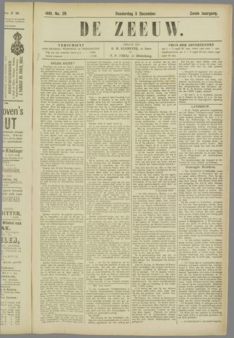 De Zeeuw. Christelijk-historisch nieuwsblad voor Zeeland 1891-12-03
