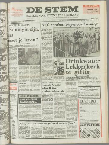de Stem 1980-04-24