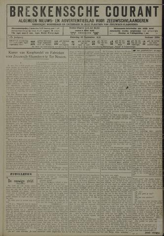 Breskensche Courant 1928-09-22