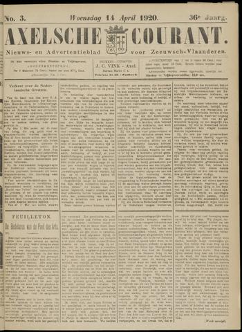 Axelsche Courant 1920-04-14