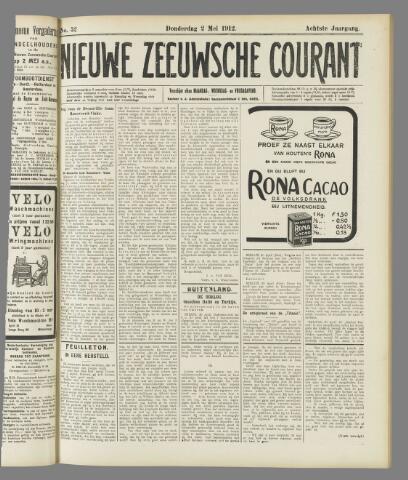 Nieuwe Zeeuwsche Courant 1912-05-02