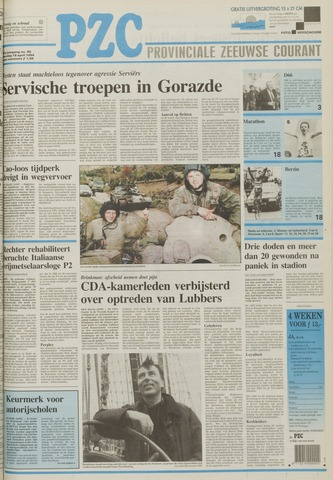 Provinciale Zeeuwse Courant 1994-04-18