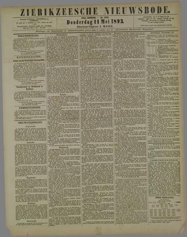 Zierikzeesche Nieuwsbode 1893-05-11
