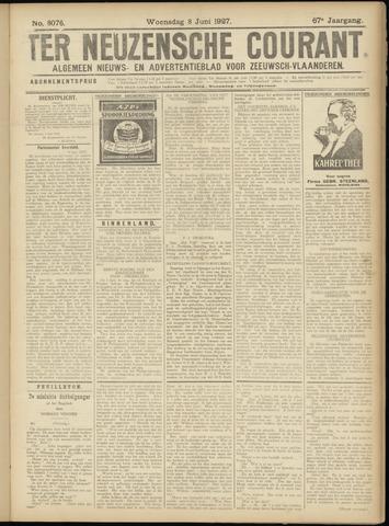 Ter Neuzensche Courant. Algemeen Nieuws- en Advertentieblad voor Zeeuwsch-Vlaanderen / Neuzensche Courant ... (idem) / (Algemeen) nieuws en advertentieblad voor Zeeuwsch-Vlaanderen 1927-06-08