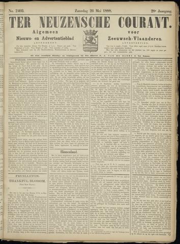 Ter Neuzensche Courant. Algemeen Nieuws- en Advertentieblad voor Zeeuwsch-Vlaanderen / Neuzensche Courant ... (idem) / (Algemeen) nieuws en advertentieblad voor Zeeuwsch-Vlaanderen 1888-05-26