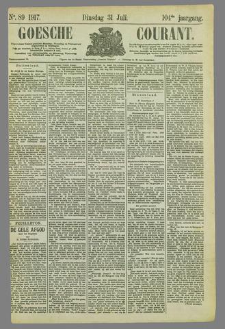 Goessche Courant 1917-07-31