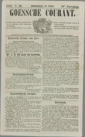 Goessche Courant 1864-06-30