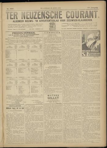 Ter Neuzensche Courant. Algemeen Nieuws- en Advertentieblad voor Zeeuwsch-Vlaanderen / Neuzensche Courant ... (idem) / (Algemeen) nieuws en advertentieblad voor Zeeuwsch-Vlaanderen 1931-06-15