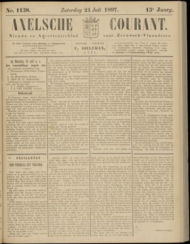 Axelsche Courant 1897-07-24