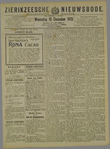 Zierikzeesche Nieuwsbode 1913-12-10