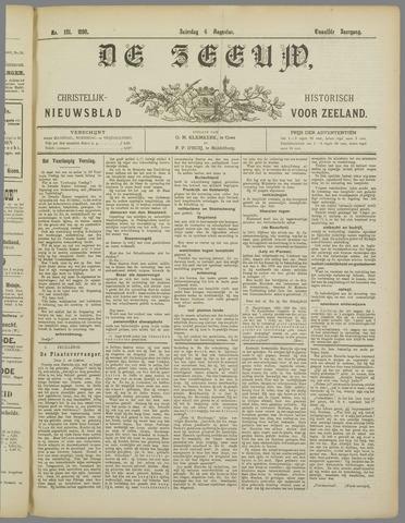 De Zeeuw. Christelijk-historisch nieuwsblad voor Zeeland 1898-08-06