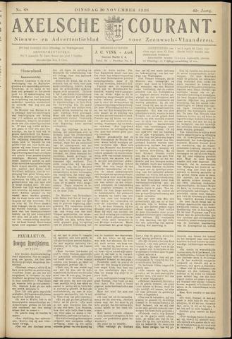 Axelsche Courant 1926-11-30