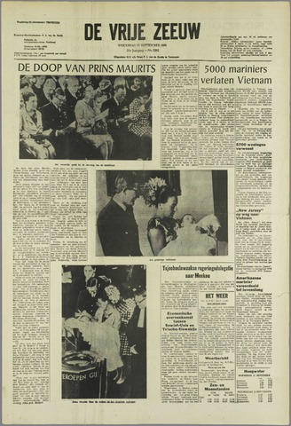 de Vrije Zeeuw 1968-09-11