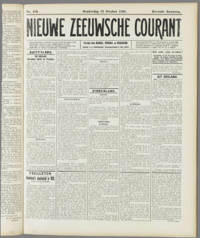 Nieuwe Zeeuwsche Courant 1911-10-19