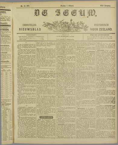De Zeeuw. Christelijk-historisch nieuwsblad voor Zeeland 1897-02-02