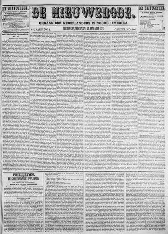 Sheboygan Nieuwsbode 1857-01-13