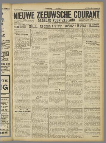 Nieuwe Zeeuwsche Courant 1922-06-21